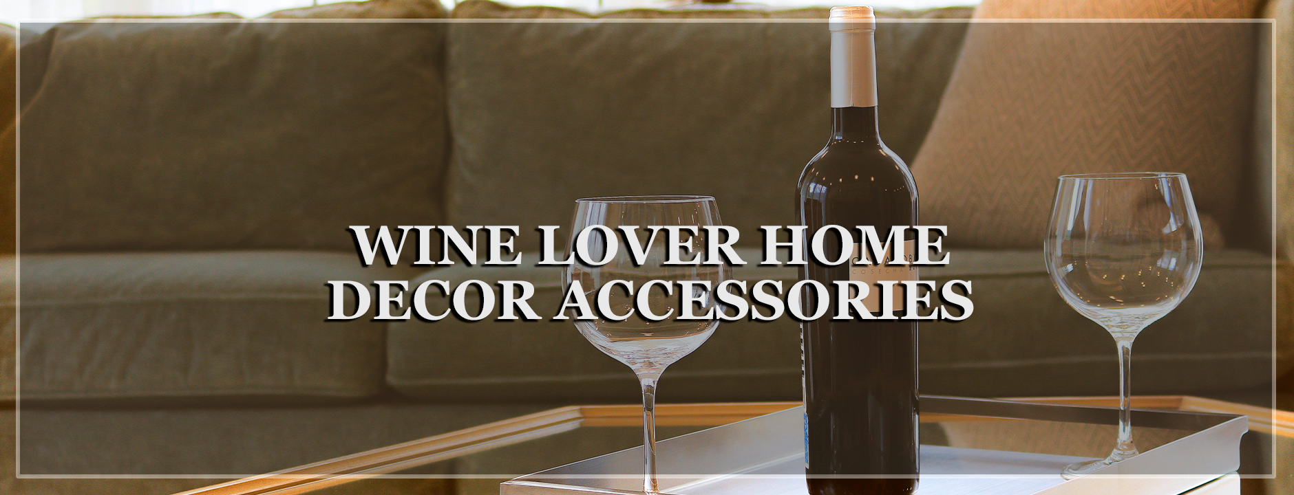 Wine Lover Home Decor - Wine Is Life Store