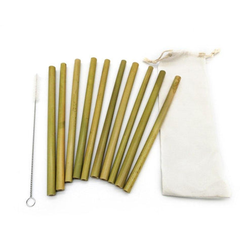 Bamboo Drinking Straws - Wine Is Life Store