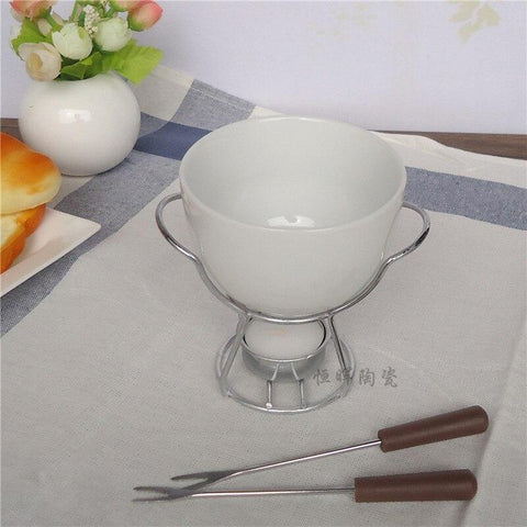 Ceramic Cheese Fondue Set - Wine Is Life Store