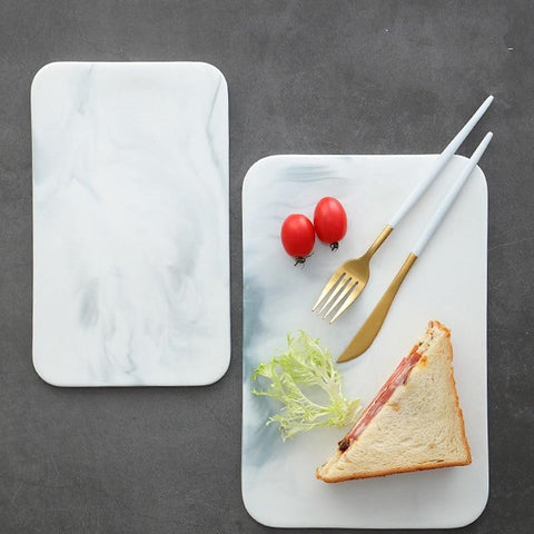 Ceramic Serving Board (Marble) - Wine Is Life Store