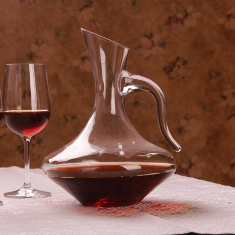 Glass Decanter with Handle - Wine Is Life Store