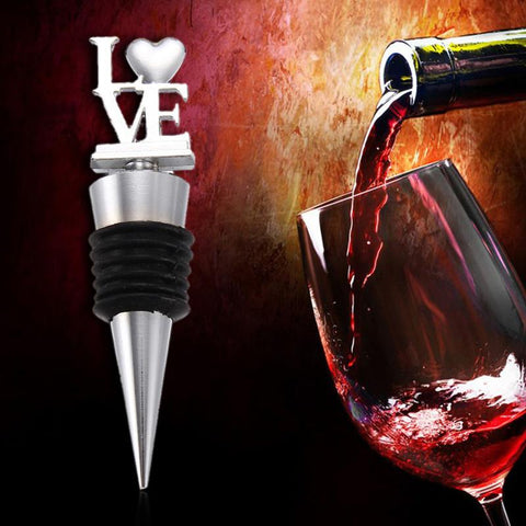 LOVE Wine Bottle Stopper - Wine Is Life Store