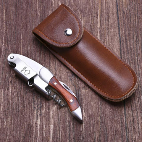 Multifunctional Wine Bottle Opener With a Case - Wine Is Life Store