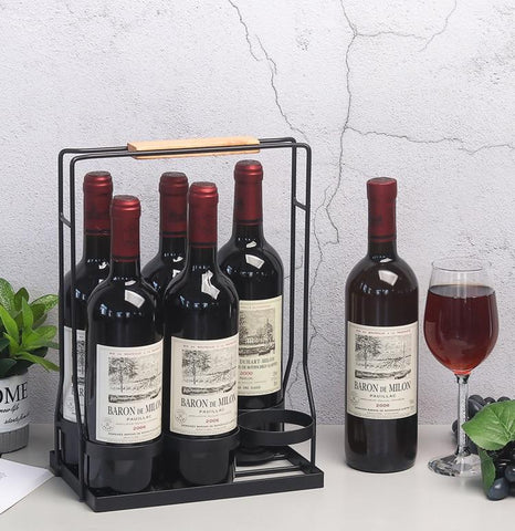 Portable Bottle Rack (Stand) - Wine Is Life Store