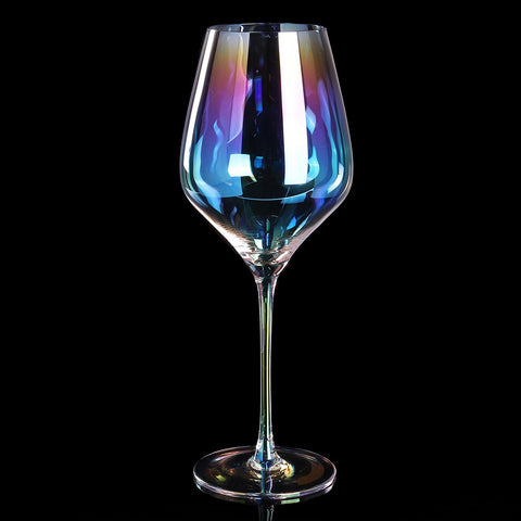 Rainbow White Wine Glass - Wine Is Life Store
