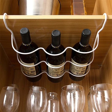 Refrigerator Wine Bottle Hanging Rack - Wine Is Life Store