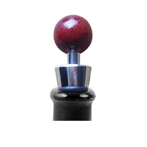 Rosewood Cone Bottle Stopper - Wine Is Life Store