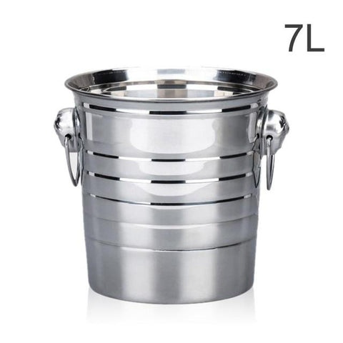 Stainless Steel Champagne Ice Bucket - Wine Is Life Store