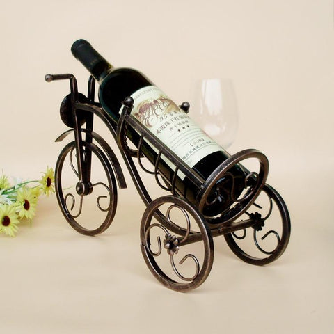Vintage Tricycle Bottle Holder - Wine Is Life Store