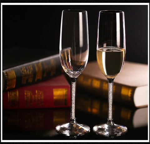 Wedding Champagne Glasses - Wine Is Life Store