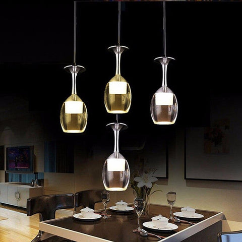 Wine Glass Pendant Lamp - Wine Is Life Store