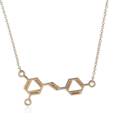 Wine Molecule Necklace - Wine Is Life Store