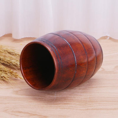 Wooden Barrel Wine Cup - Wine Is Life Store