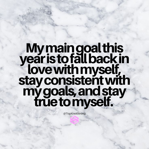My main goal this year