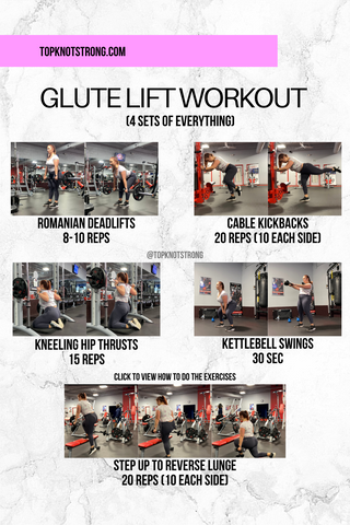 Glute Lift Workout by Sarah Facemire