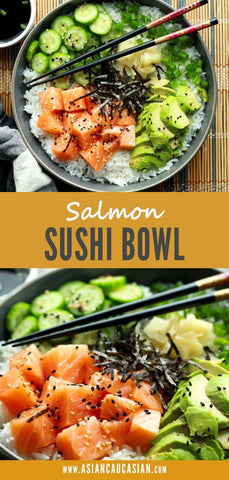 Healthy Salmon Sushi Bowl
