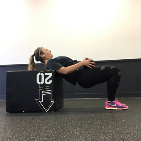 Top Knot Strong Hip Thrusts