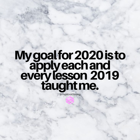 My goal for 2020