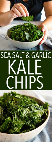 Easy No Fail Kale Chips Recipe
