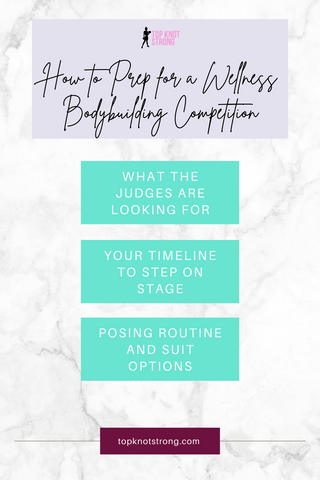 What the judges are looking for in a Wellness Bodybuilding Competition, How long it will take to prep for a show, Your posing suit and routine
