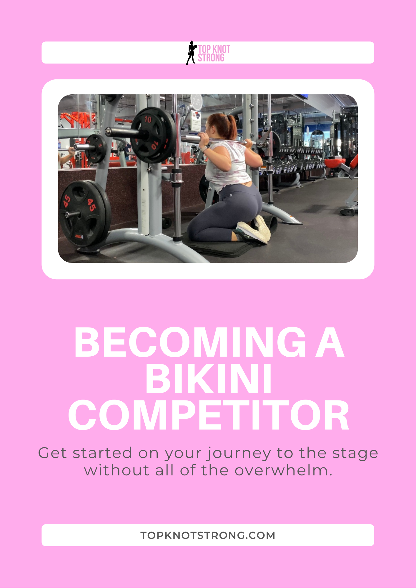 A Beginners Guide to Becoming a Bikini Competitor eBook