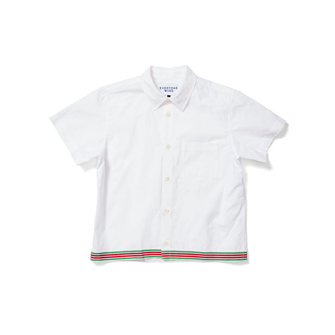 APC Short Sleeve Shirt with French Napkin Hem