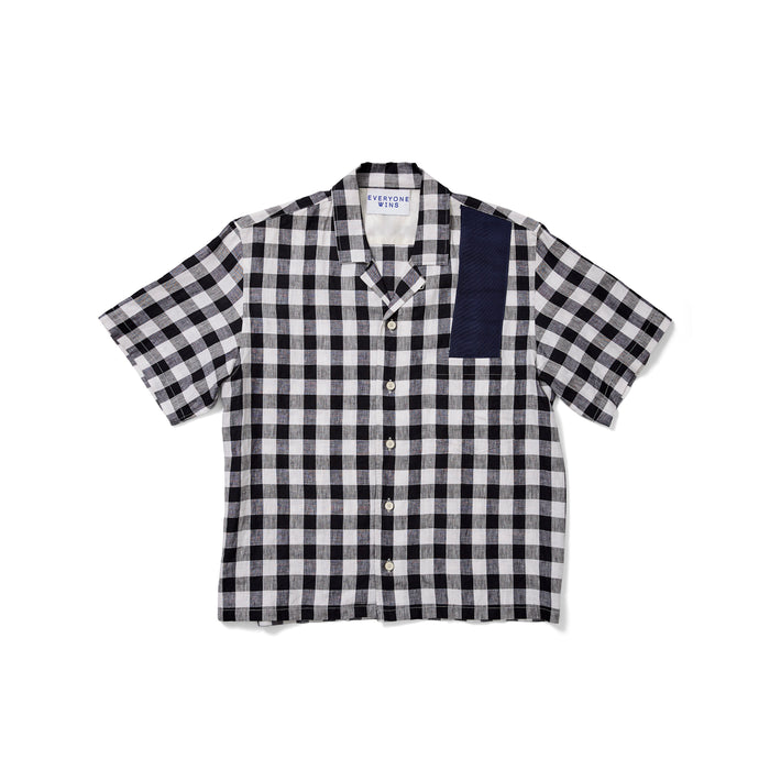 Marc Jacobs Checkered Short Sleeve Button Down Shirt