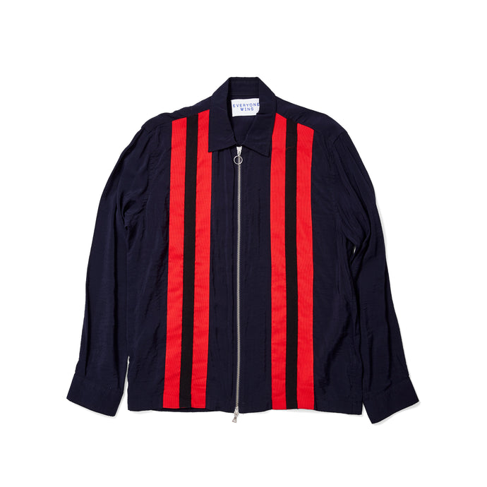 Timo Weiland Red Stripe Light Zip Jacket