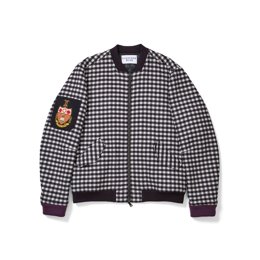 Timo Weiland Checkered Bomber with Prep Patches