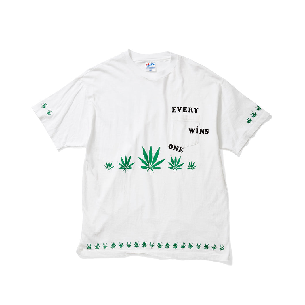 Cannabis Pocket Tee with Logo