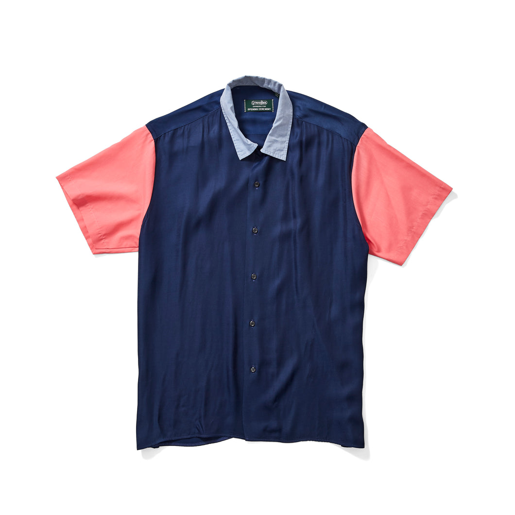 Gitman Brothers Pink and Blue Combo Shirt