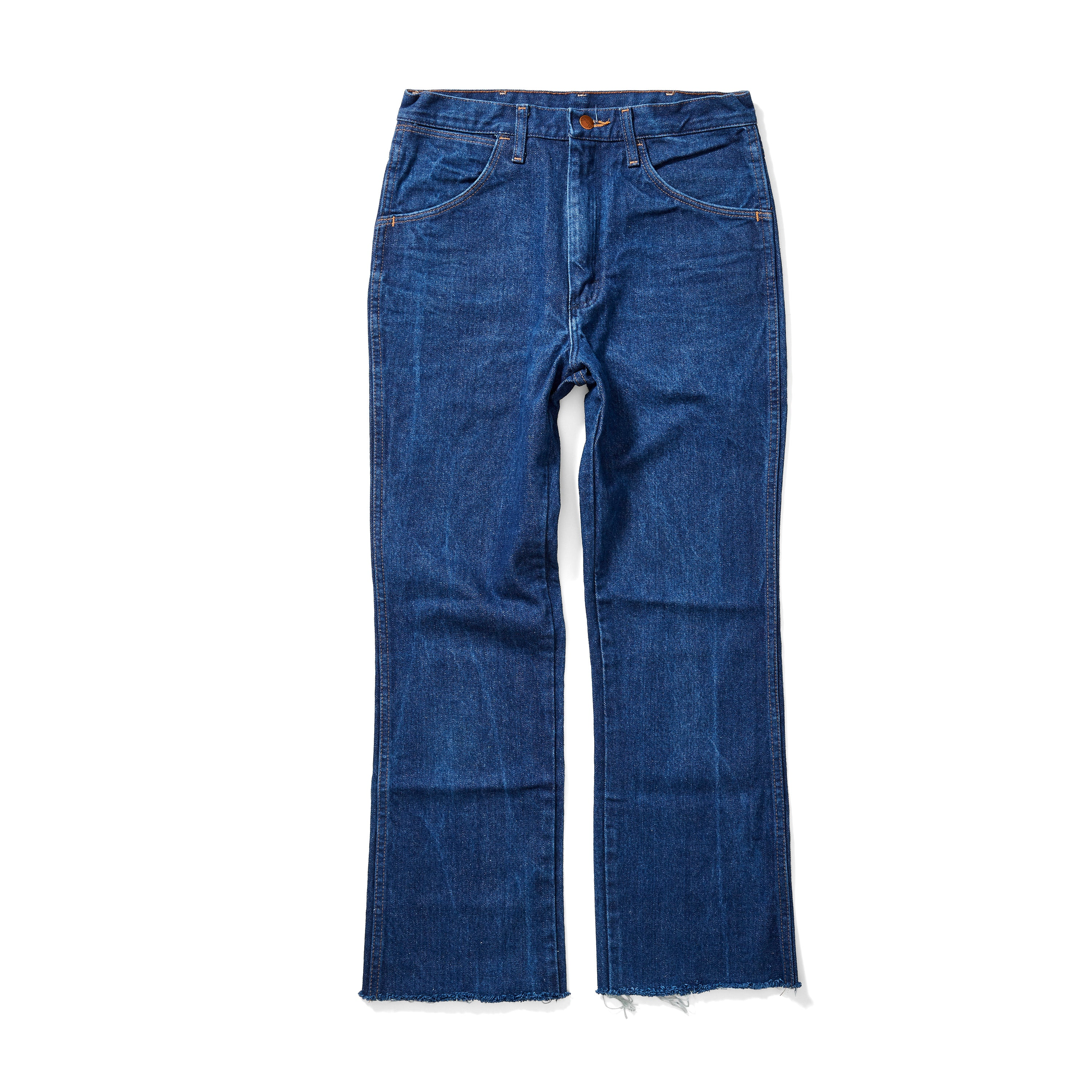 Vintage Wrangler Jeans <br> Cropped Straight Fit - Size 29