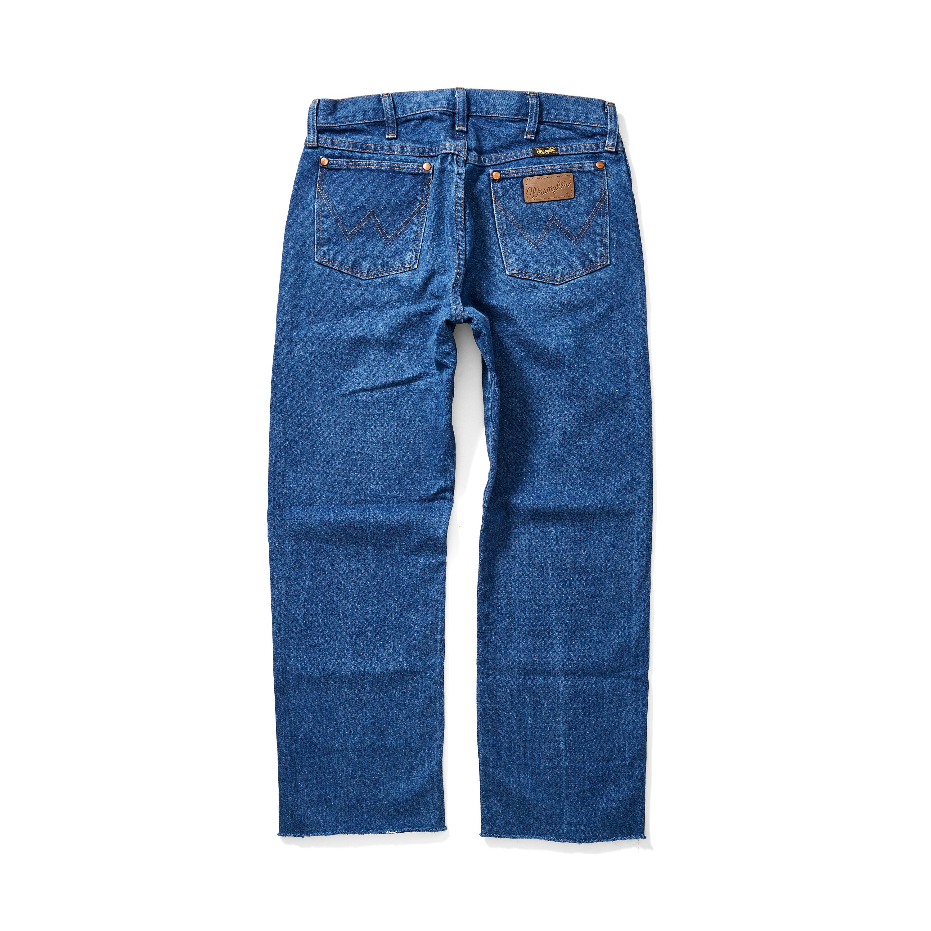 Vintage Wrangler Jeans <br> Cropped Straight Fit - Size 30