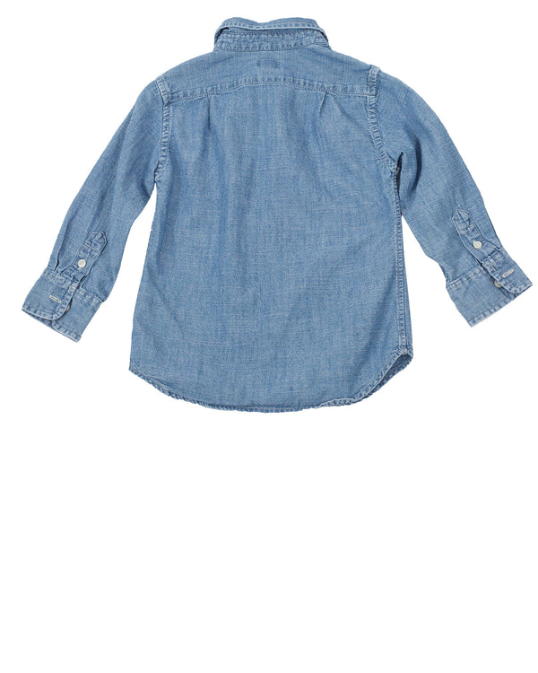 LS Chambray Button Down Shirt