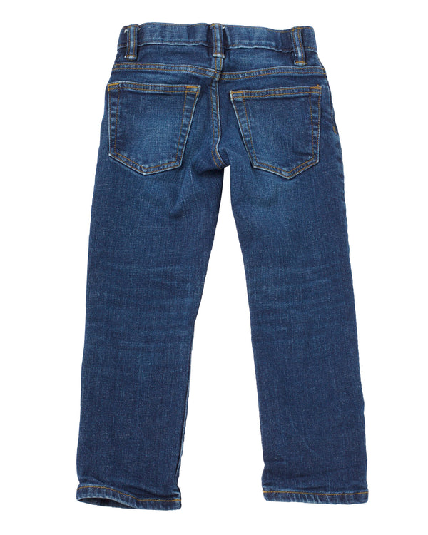 Straight Fit 5 Pocket Jean