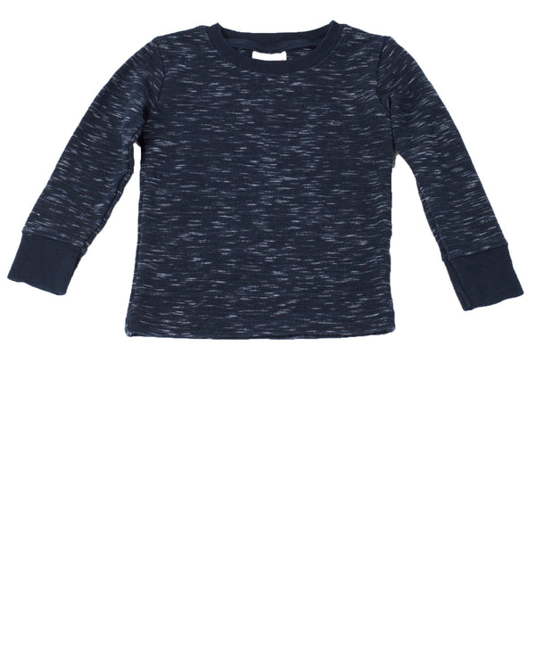 LS Marled Thermal Tee
