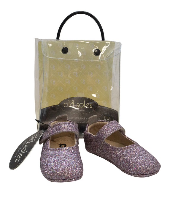 Glitter Mary Janes with Tags