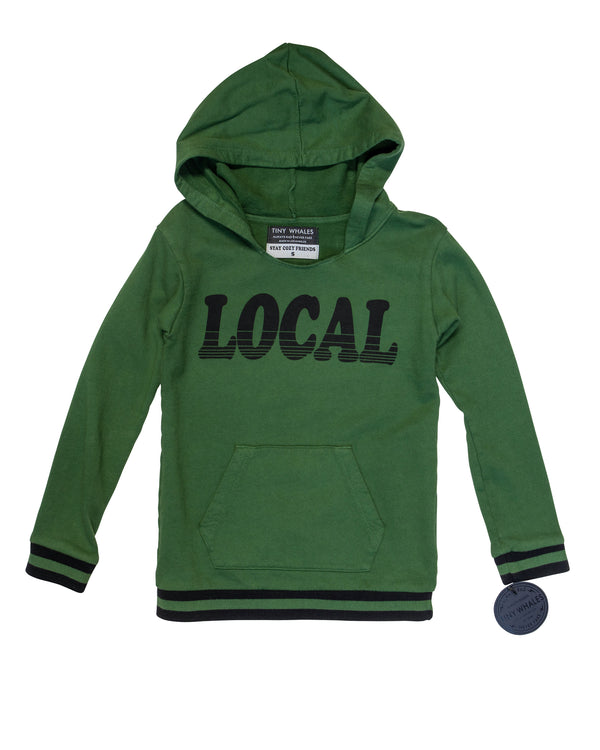 Local Hoodie with Tags
