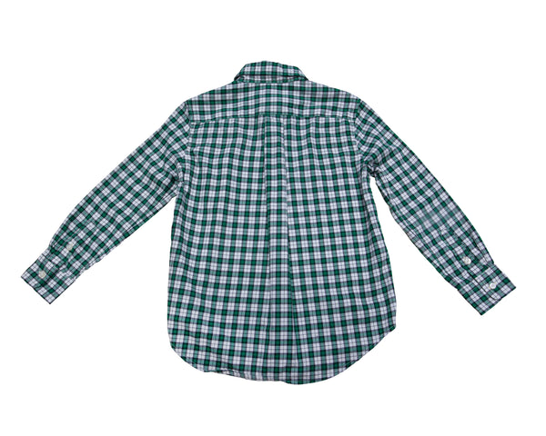Plaid Button Down Shirt with Tags
