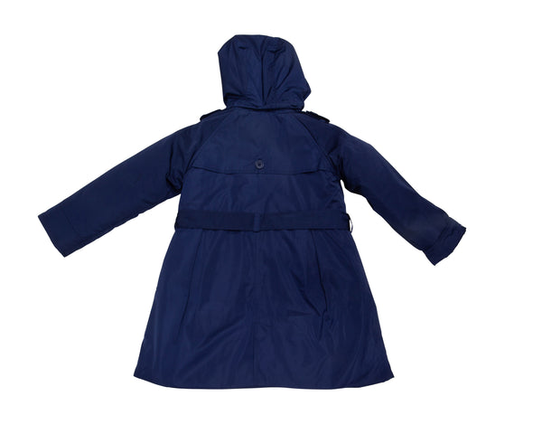 3-in-1 Hooded Rain Trench Coat with Tags