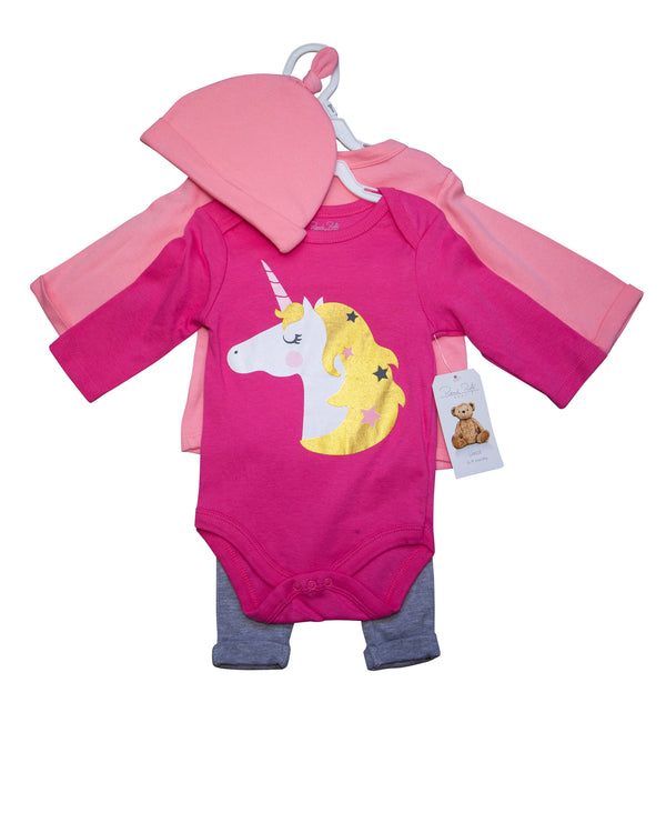 Unicorn Tees, Legging & Hat Set with Tags