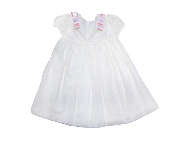 Swiss Dot Tulle Occasion Dress