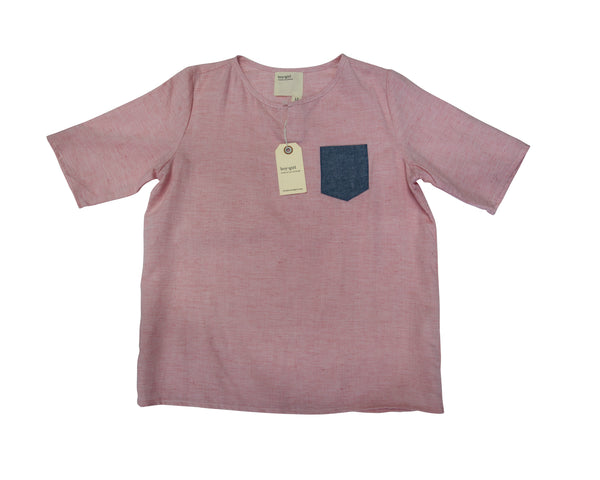 SS Popover Shirt with Tags