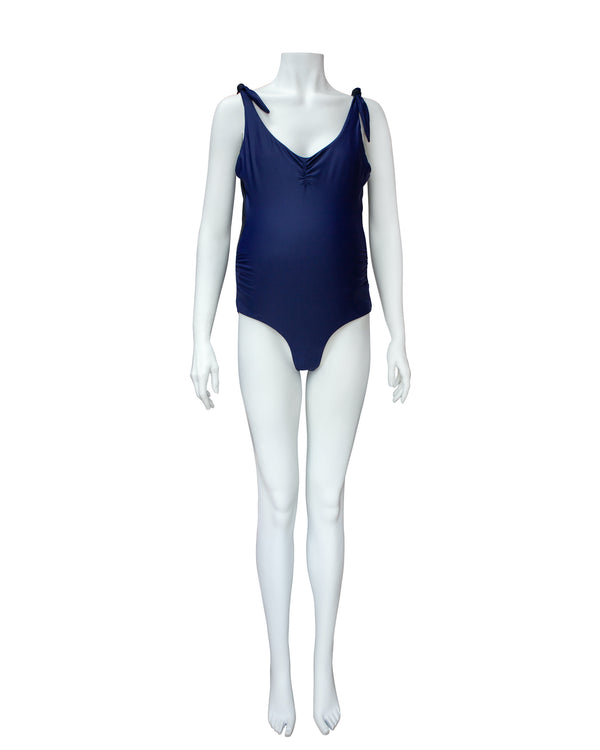 Bi-Color Maternity Swimsuit with Tags