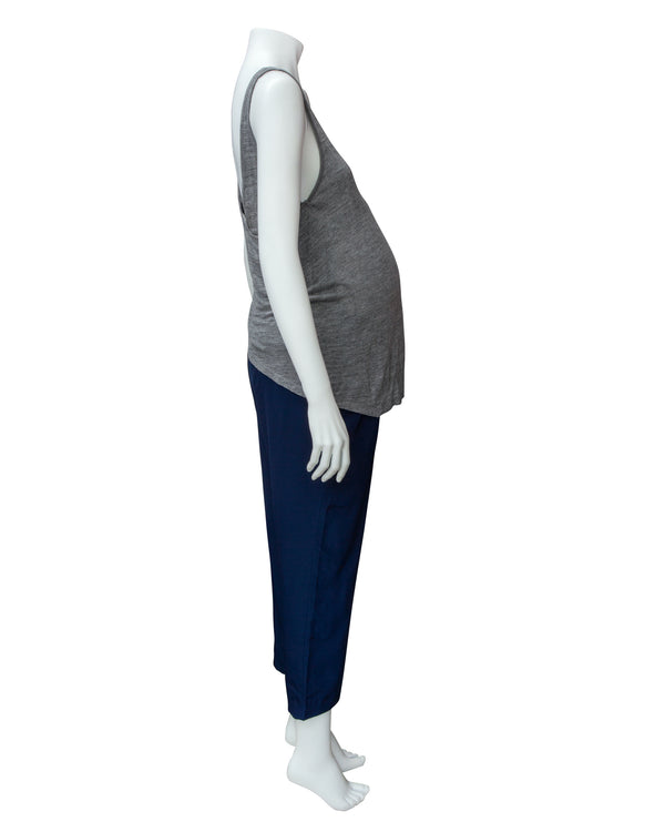 Crop Drapey Maternity Pants with Tags