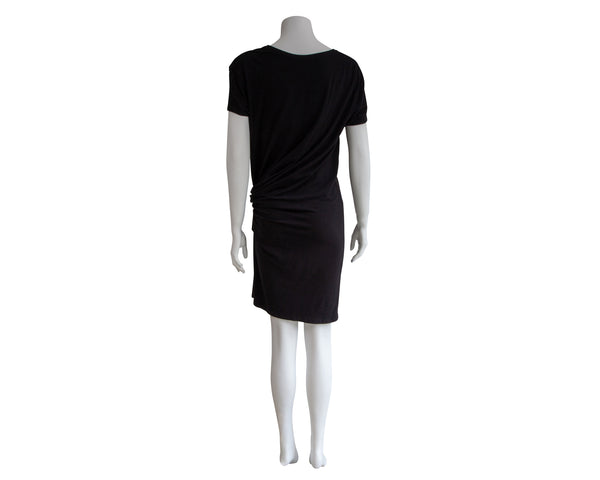 SS Twist Front Knit Maternity Dress