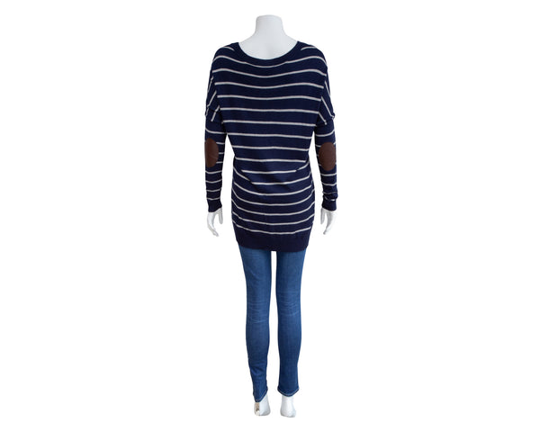 Stripe Boatneck Maternity Sweater
