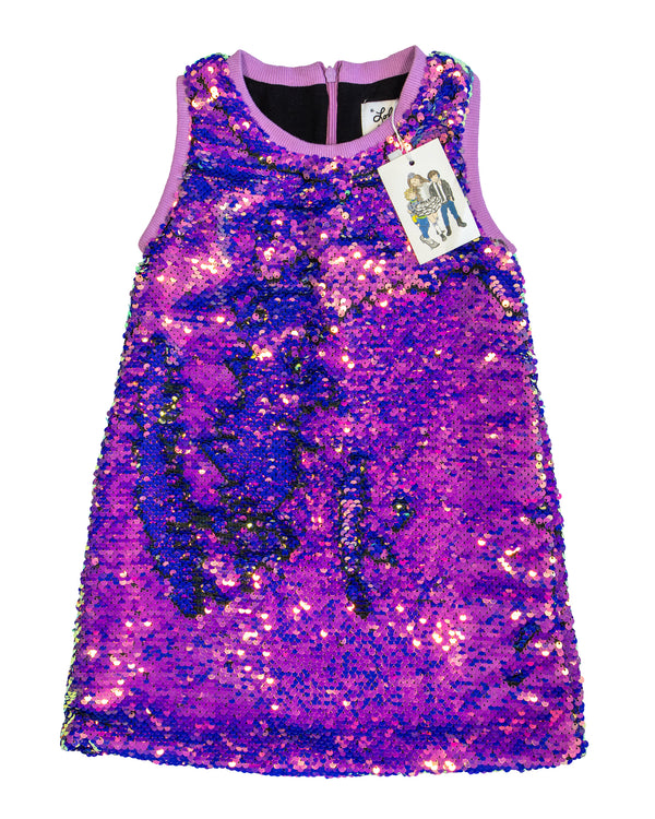 Magic Mermaid Sequin Dress with Tags
