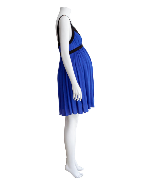 Colorblock SL Maternity Dress