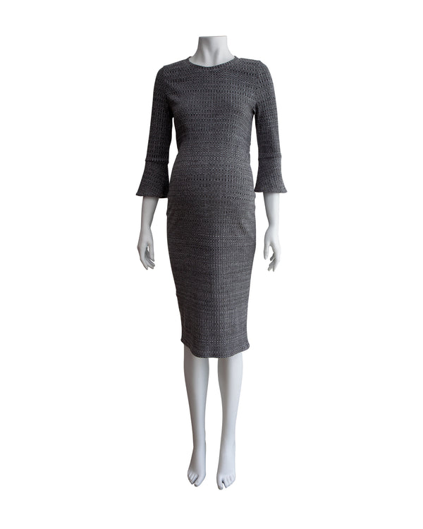 Ribbed Knit Maternity Dress